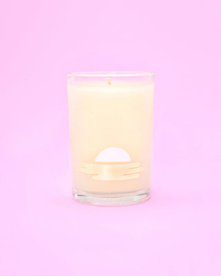 coconut & suntan oil candle
