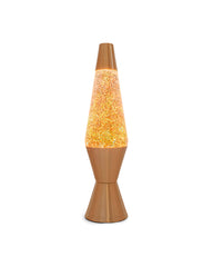 gold glitter lava lamp