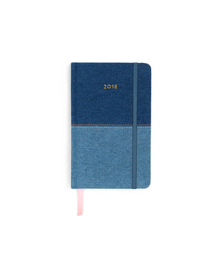 ban.do 17-month classic agenda - denim
