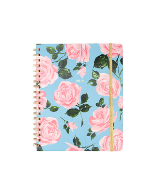 2018 12-month compact view planner - rose parade