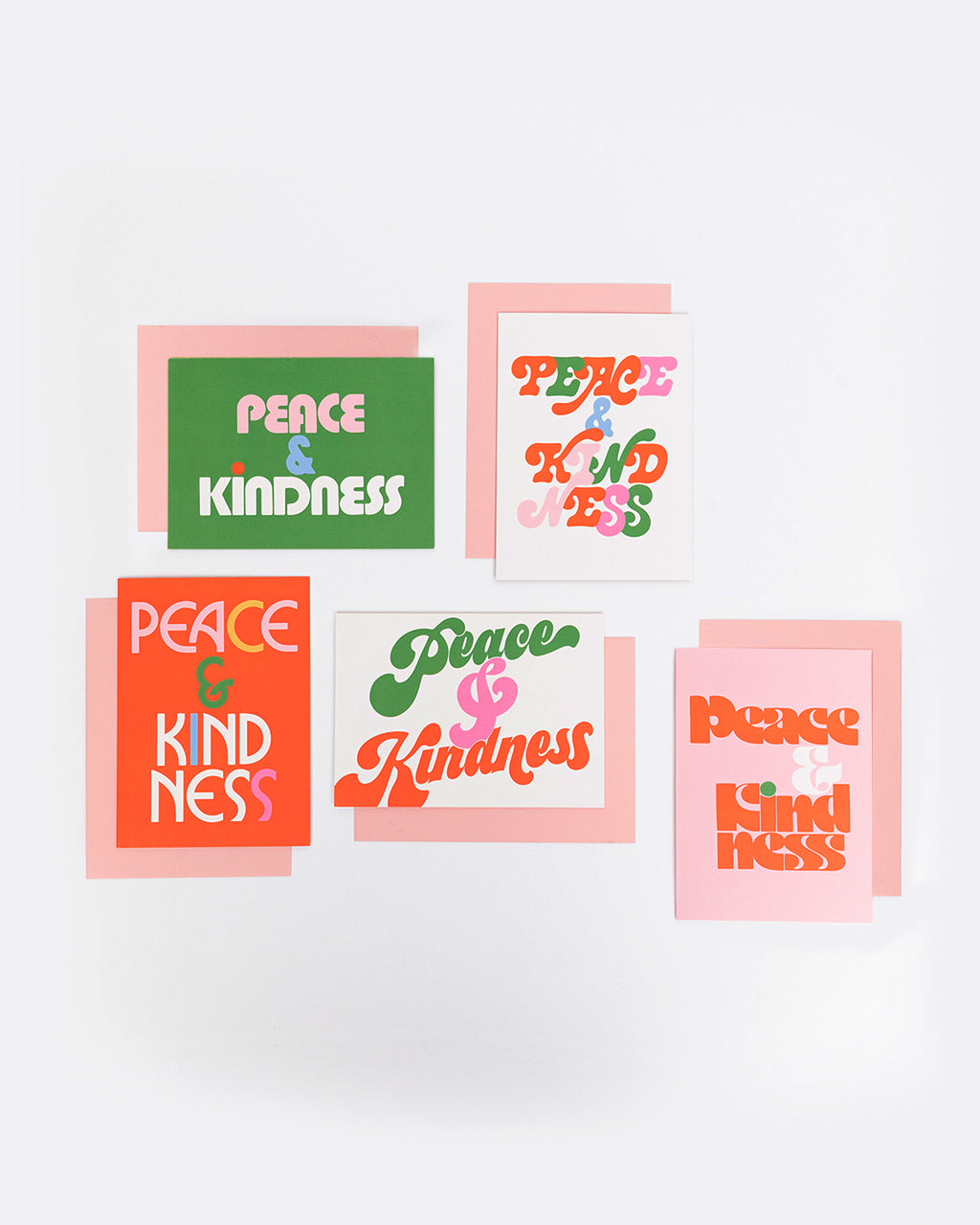 peace and kindness card set