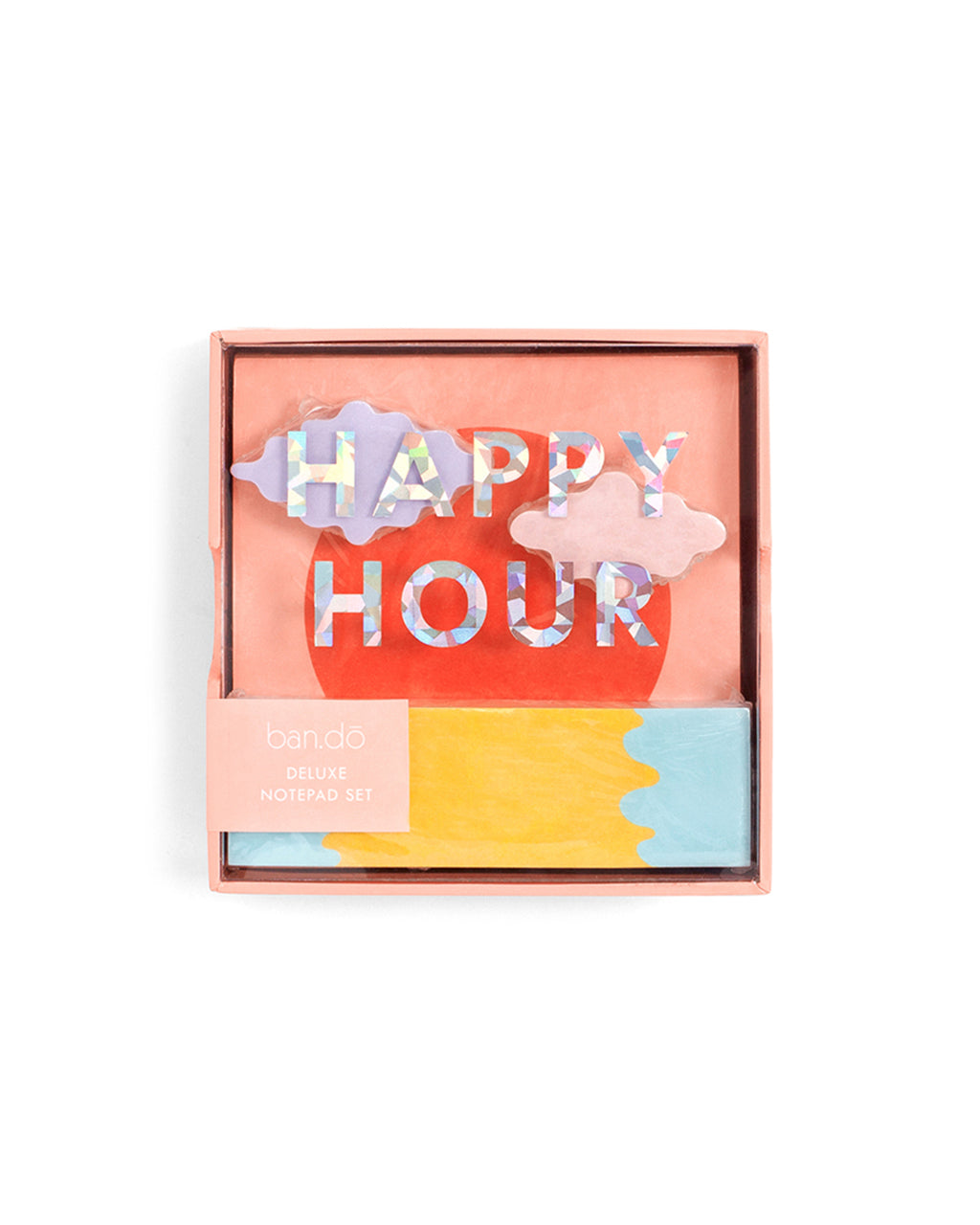 deluxe notepad set happy hour by ban do notepad ban do