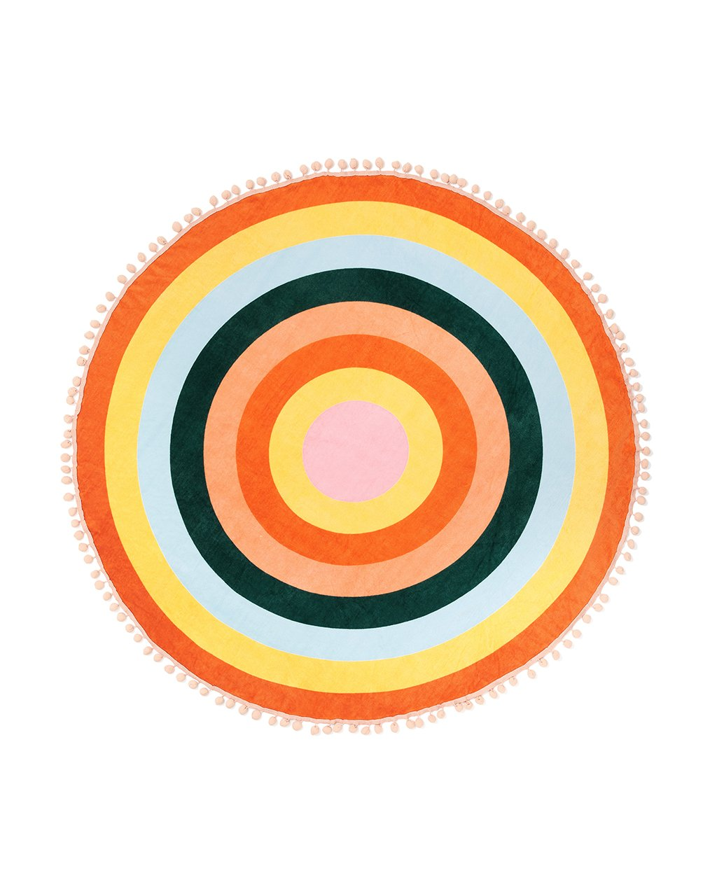 All Around Giant Circle Towel Color Wheel By Ban Do Beach Towel