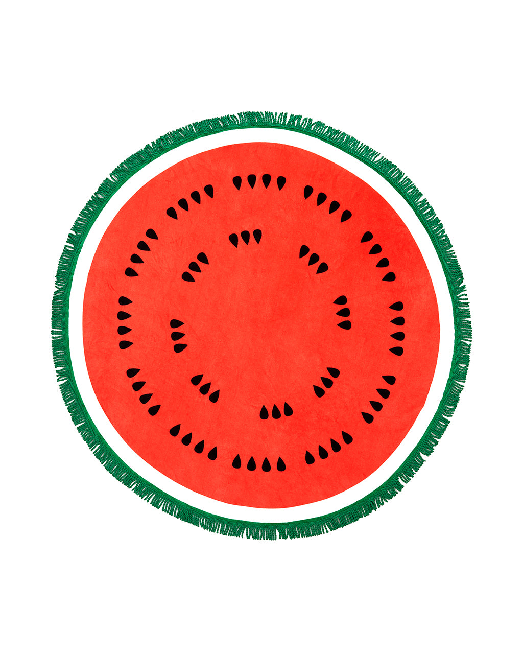 All Around Giant Circle Towel Watermelon By Ban Do
