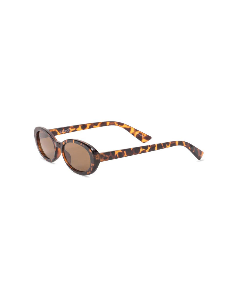 Oval Sunglasses - Tortoise