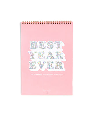 best year ever wall calendar - 2018
