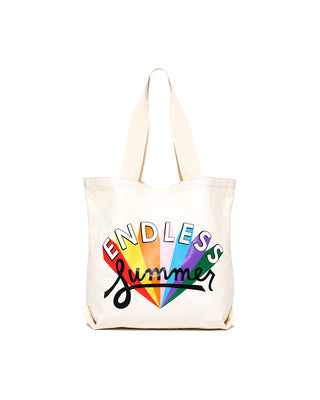 canvas tote - endless summer