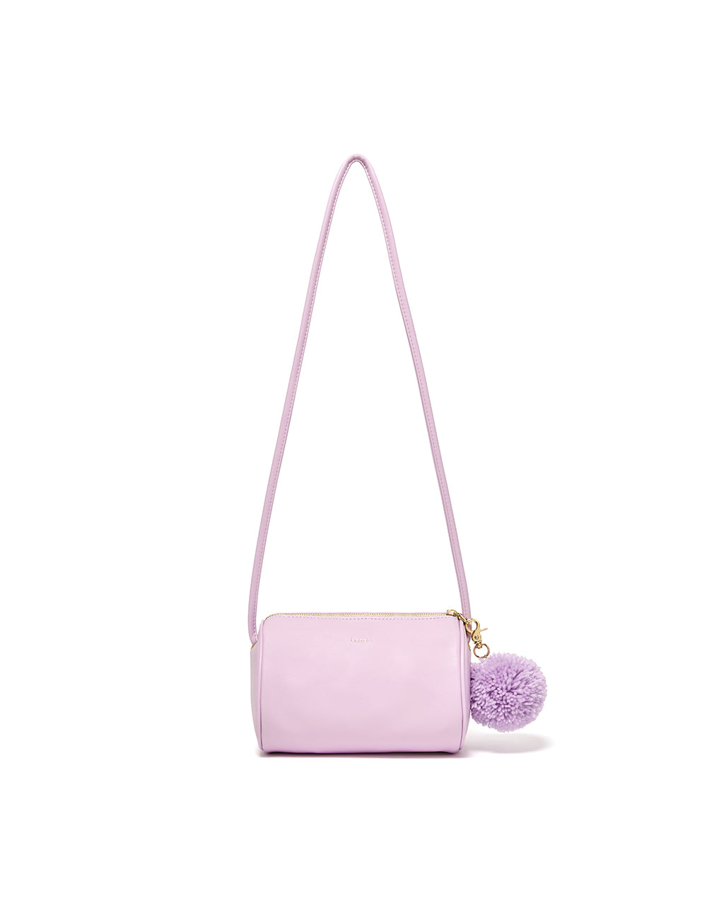 buddy cylinder bag - lilac