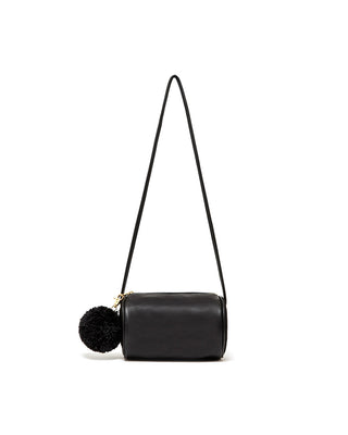 buddy cylinder bag - onyx