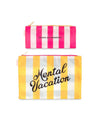 This pouch duo comes with one large yellow club stripe and one small pink club stripe