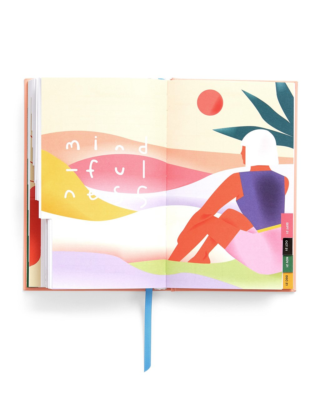 interior image of artwork featured in the planner