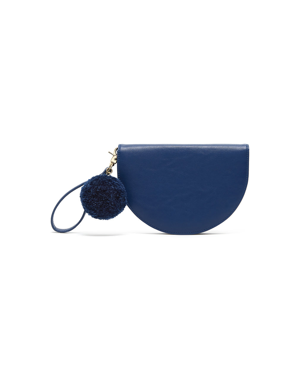 This Comrade Party Clutch comes in azure blue.