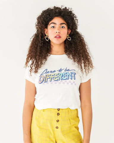 Dare to Be Different Slub Tee