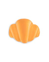 Croissant shaped stress ball