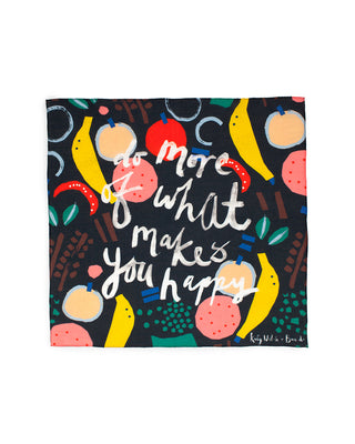scarf - do more of what makes you happy