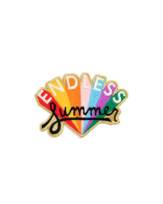 embroidered patch - endless summer