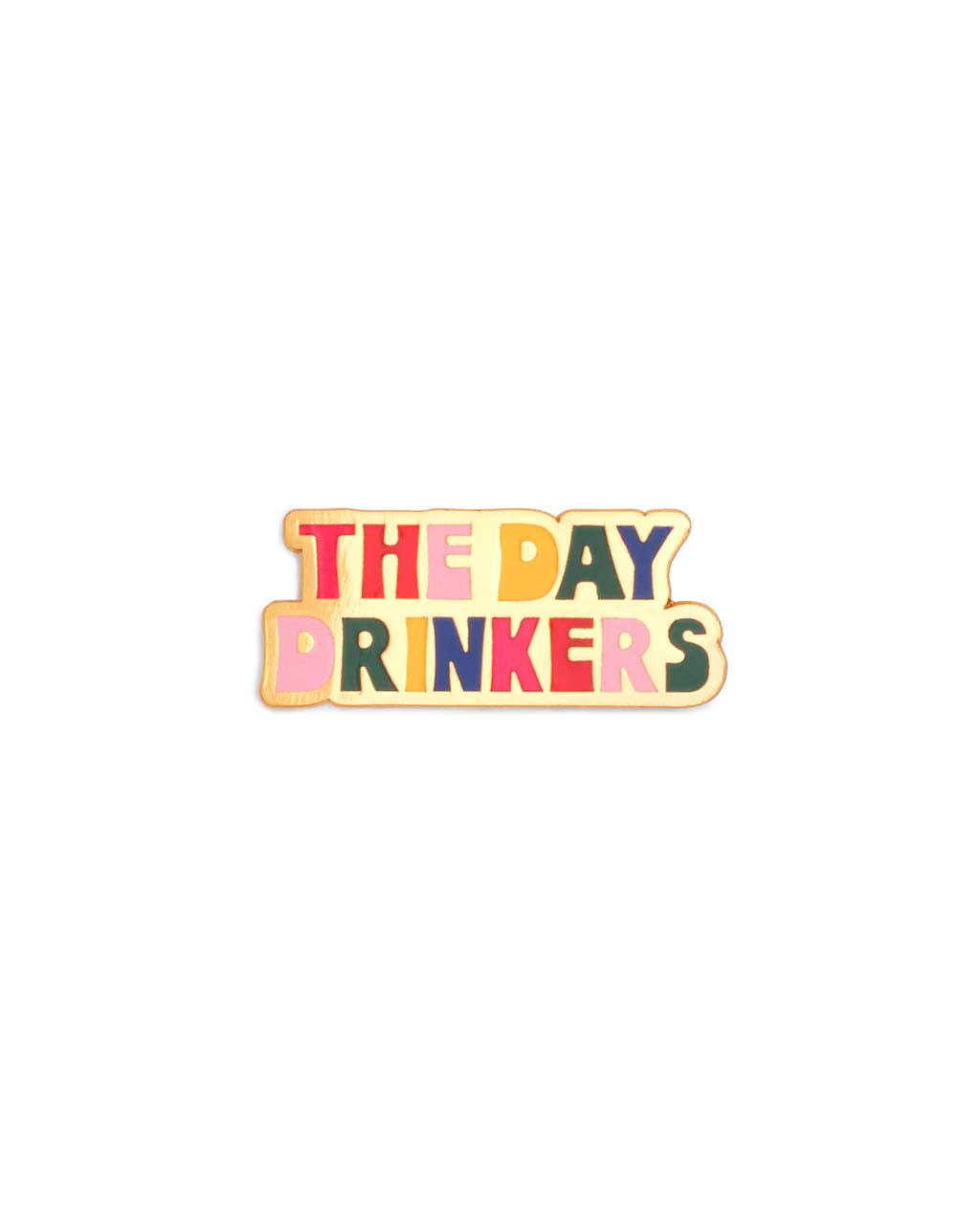 Enamel Pin - Day Drinkers
