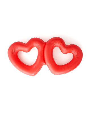 Beach Please! Buddy Heart Innertube - Double Hearts