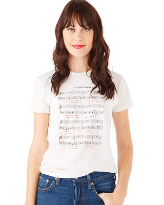 friendship song tee