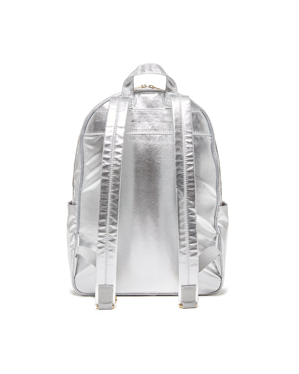 Cotton webbing and metal hardware make this backpack as durable as it is beautiful.