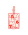 getaway luggage tag - traveling party