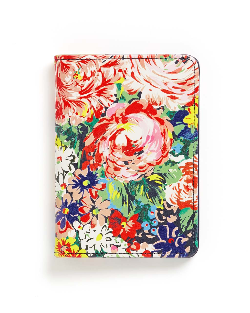 This Getaway Passport Holder comes in a colorful floral pattern designed by Helen Dealtry.