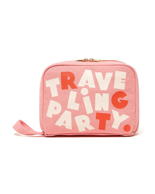 getaway toiletries bag - traveling party
