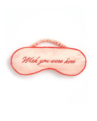 getaway eye mask - wish you were here