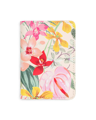This Getaway Passport Holder comes in a colorful floral pattern designed by Helen Dealtry and Katy Jones.