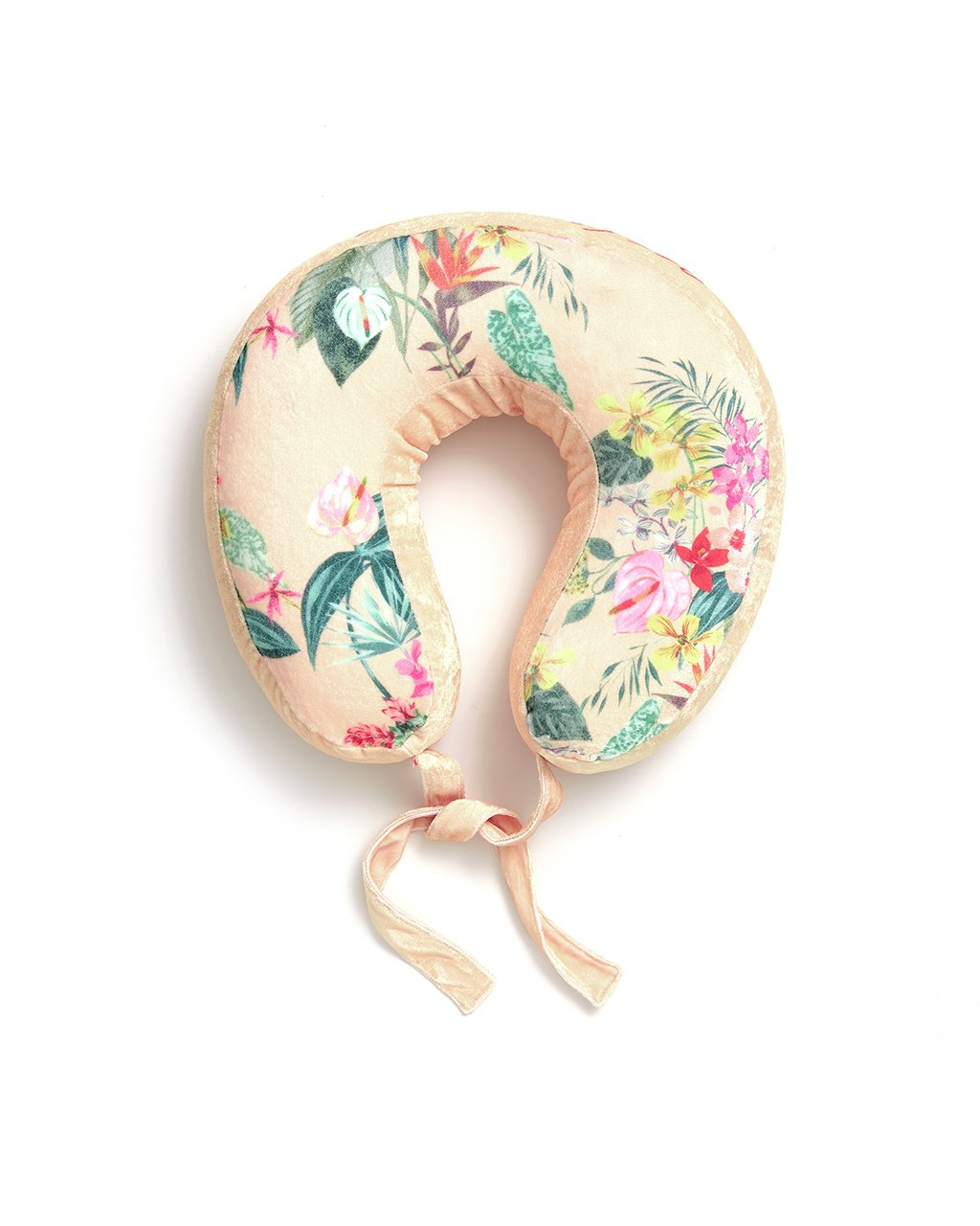 This Getaway Travel Pillow comes in a colorful floral pattern designed by Helen Dealtry and Katy Jones.