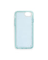 interior view of blue iphone case