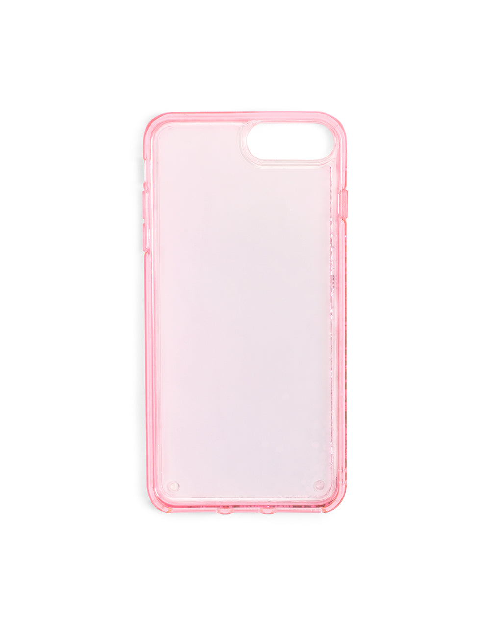 Interior view of pink iPhone case