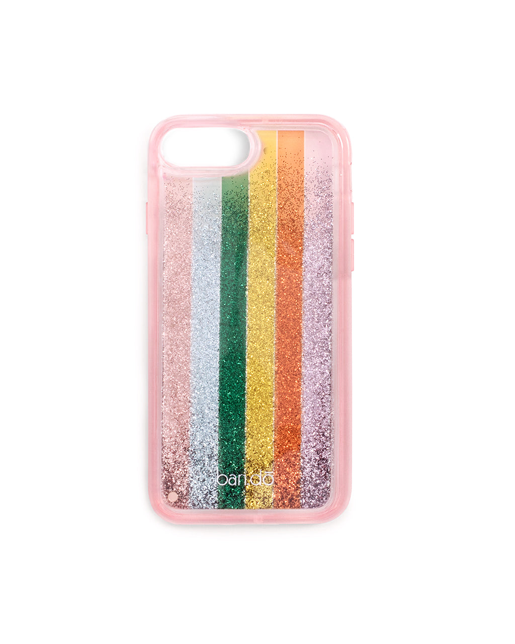 glitter bomb iphone plus case - color wheel