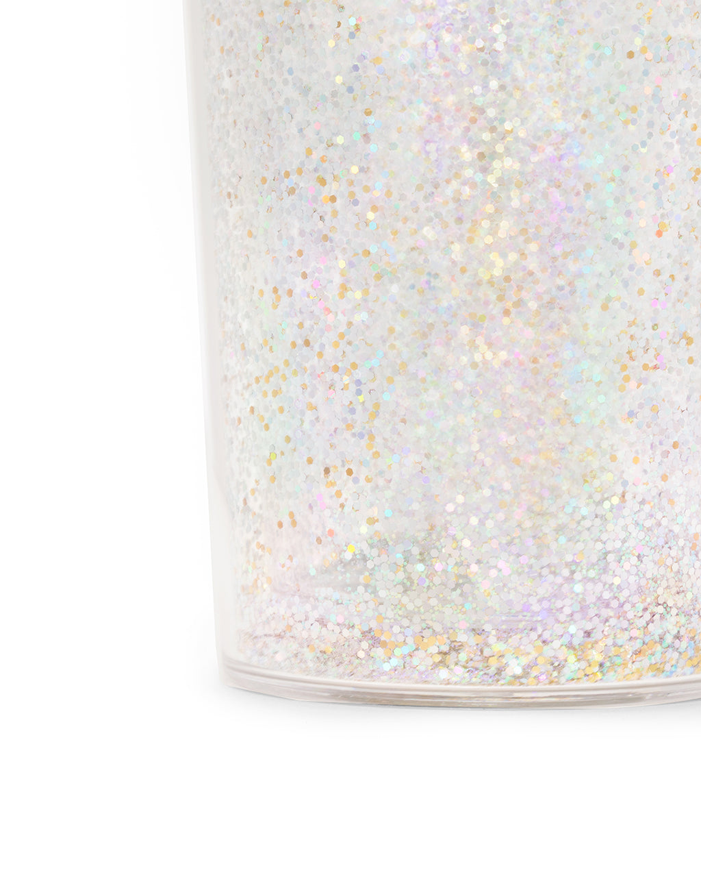 glitter bomb cocktail shaker