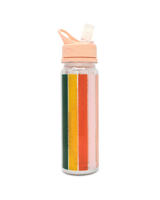 glitter bomb water bottle - color wheel
