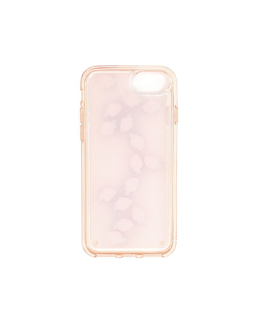Durable double-walled design keeps your phone safe and the little strawberries afloat.