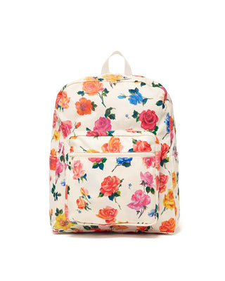 This Go-go Backpack comes in a colorful floral pattern designed by Helen Dealtry.