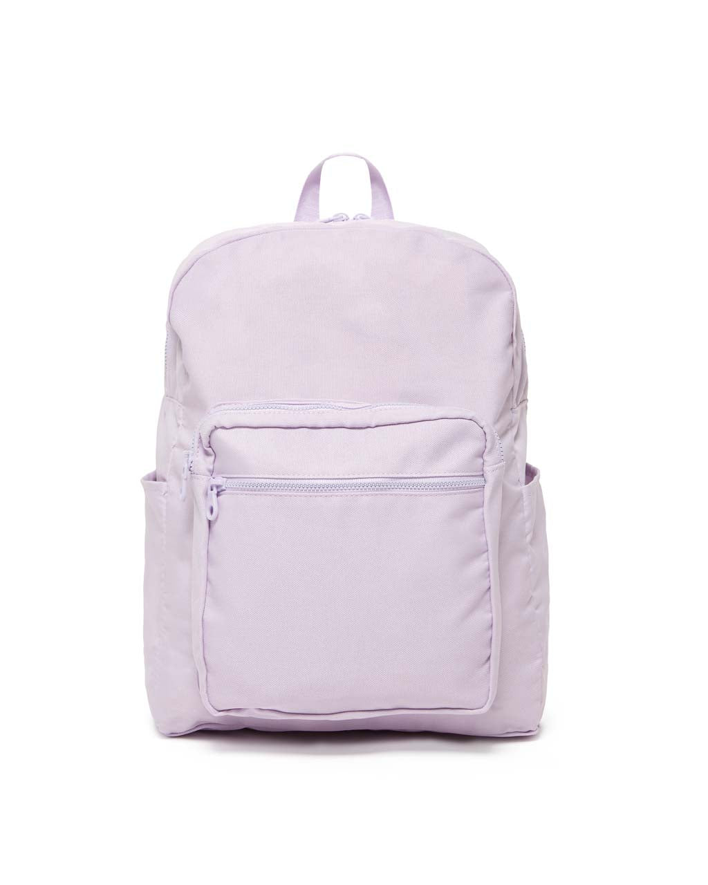 This Go-go Backpack comes in a soft lilac purple.