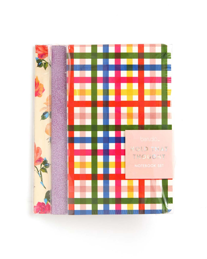 Each notebook contains 32 lined pages and one encouraging centerfold page.