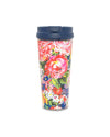 This Hot Stuff Thermal Mug comes in a colorful floral pattern by Helen Dealtry.