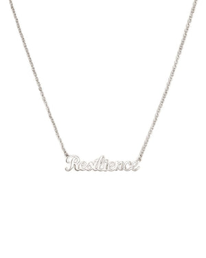 Resilience Necklace - White