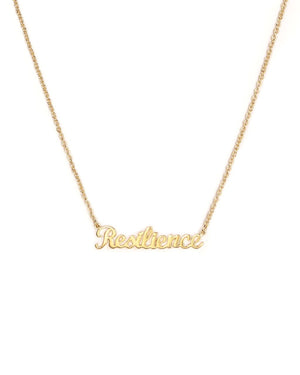 Resilience Necklace - Yellow