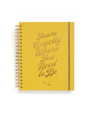 Large 17-Month Academic Planner - Where You Need to Be