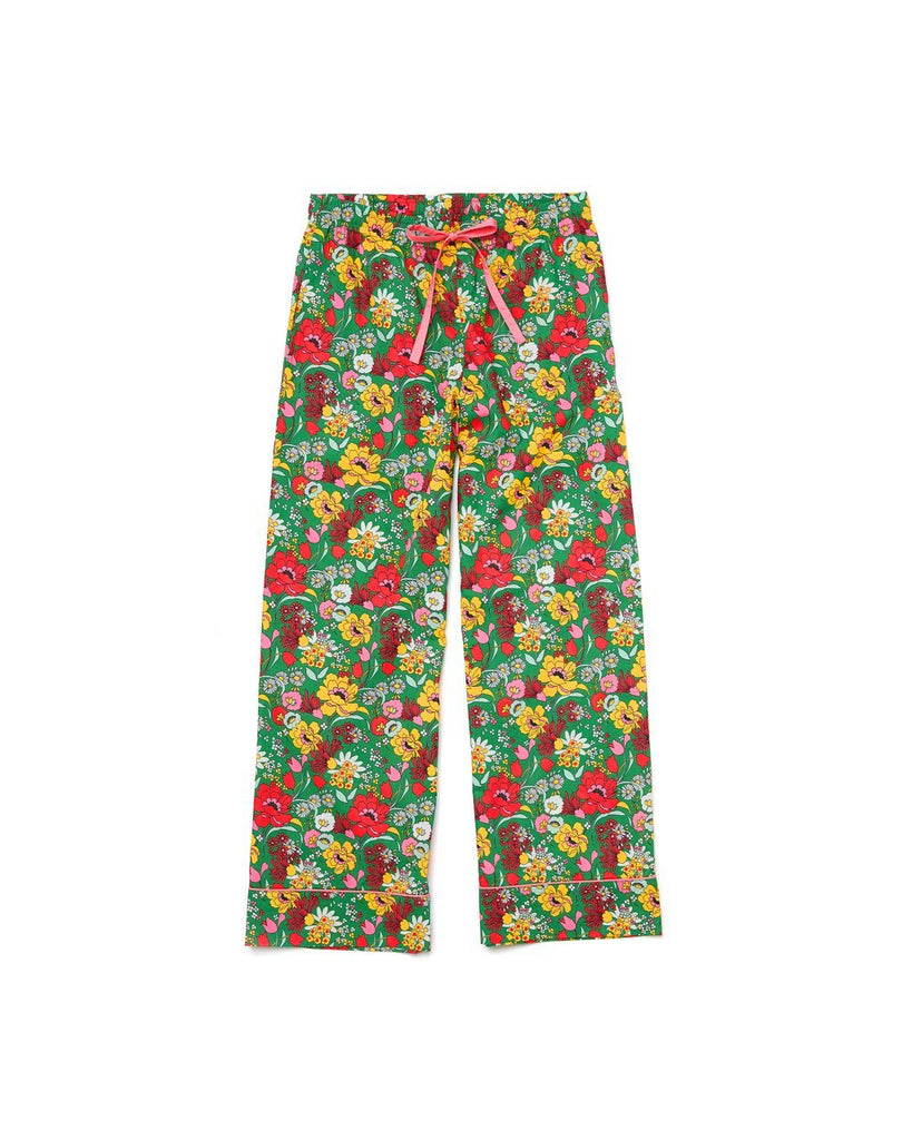 100% cotton poplin leisure pants