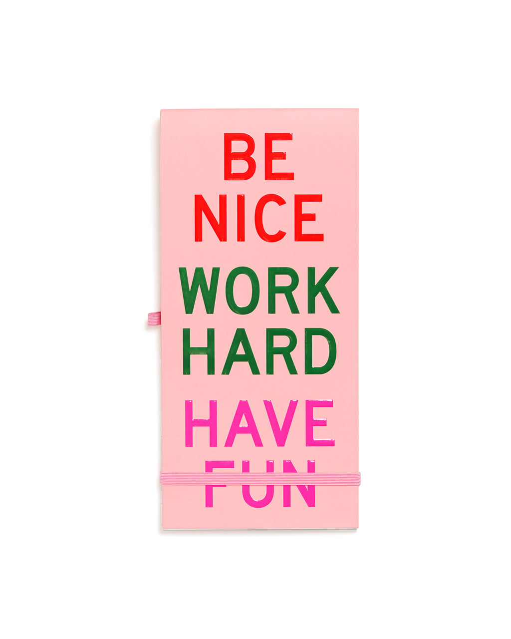 Little Buddy Reporter Pad Be Nice Have Fun Work Hard By Ban Do Notepad Ban Do