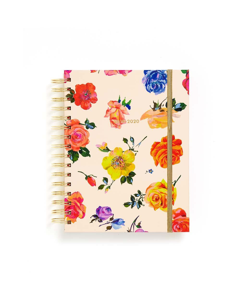 This Medium 17-Month Annual Planner comes in a colorful floral design.