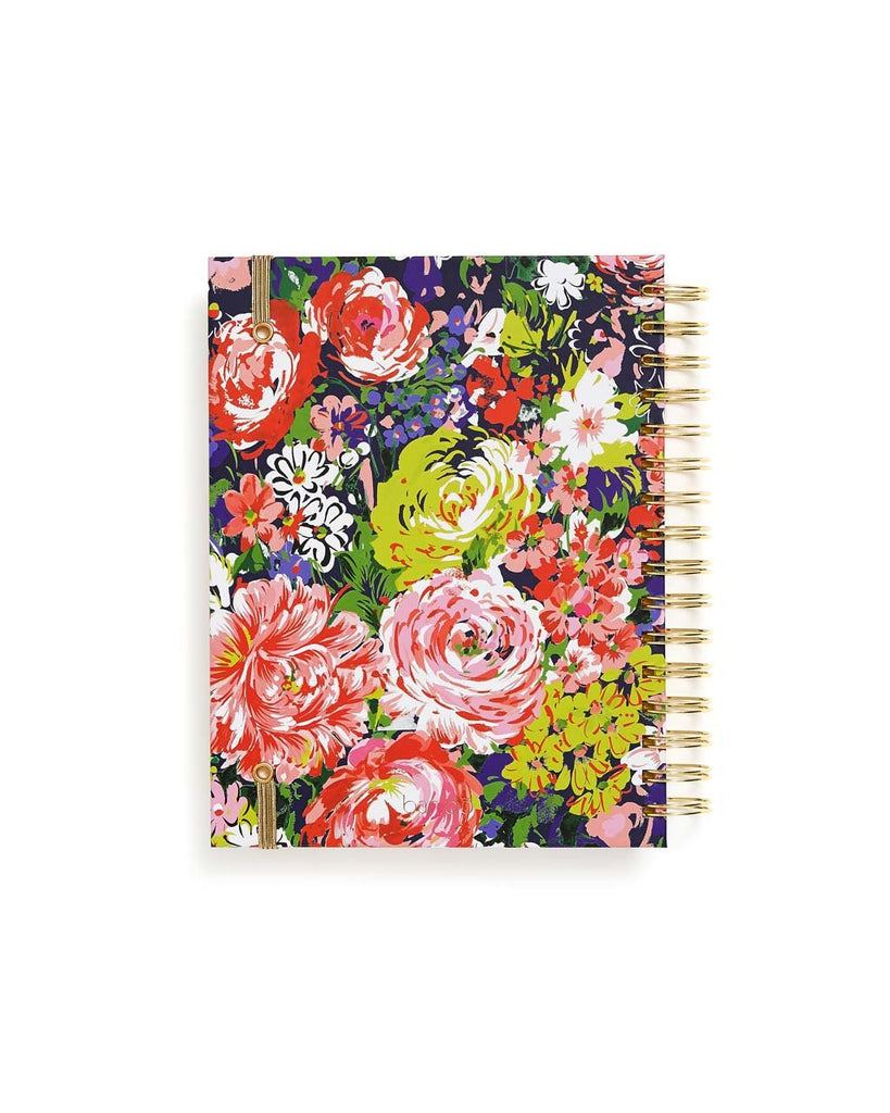 Medium 17-Month Academic Planner - Flower Shop
