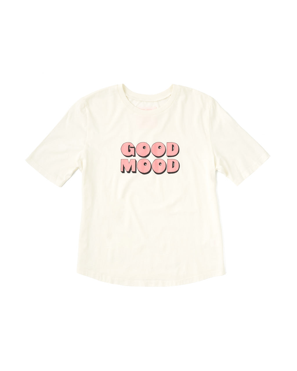 Good Mood Midi Sleeve Tee