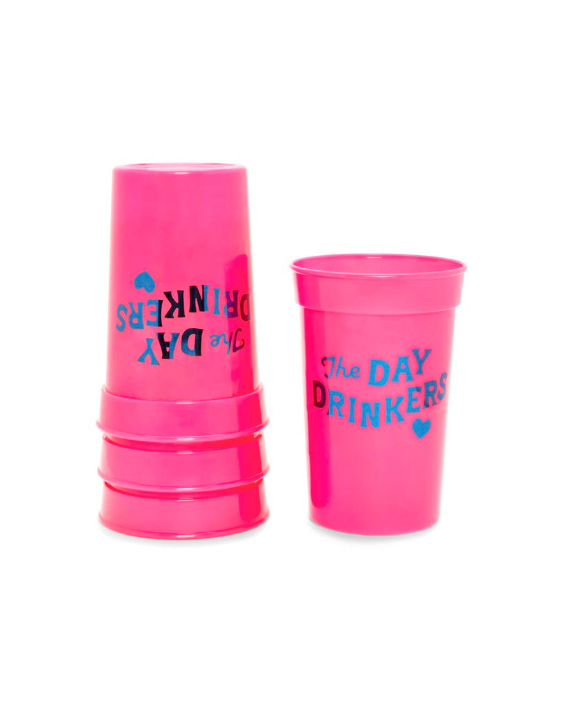 Party On Plastic Party Cup Set - Day Drinkers