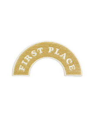 embroidered patch - first place